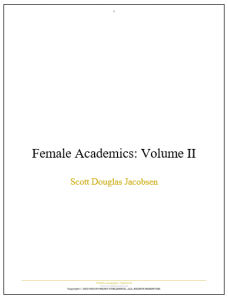 Female Academics - Volume II