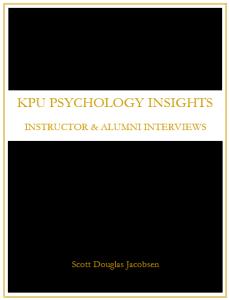 KPU Psychology Insights - Instructor & Alumni Interviews