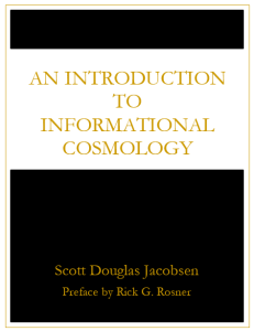 An Introduction to Information Cosmology [Academic]